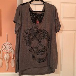 NWT Torrid Skull T-Shirt